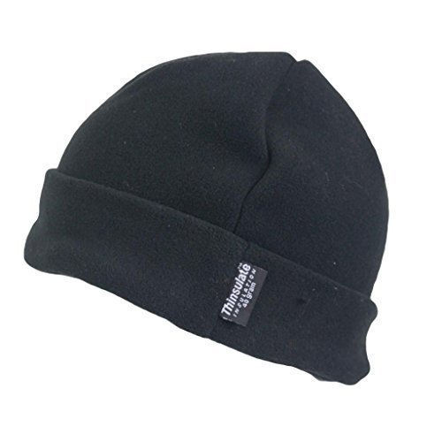 603c5498eac Mens Outdoor Turn Up Extra Warm Thinsulate Lined Winter Fleece Beanie Ski  Hat Fishing Walking Hiking