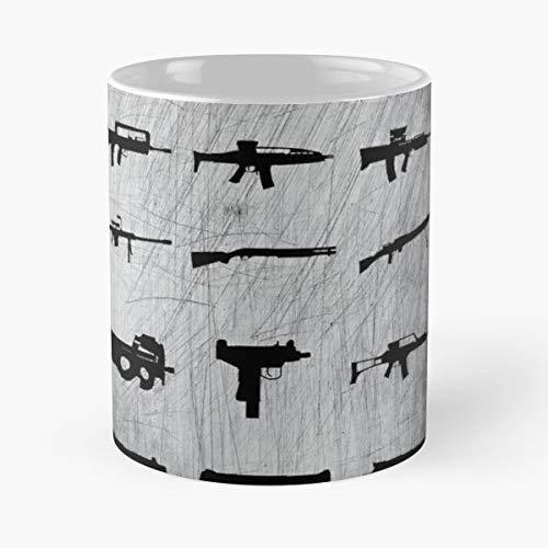 Zombie Survival Kit Gun Guns Weapon - Coffee Mug Tea Cup Gift 11oz Mugs The Best Gift Holidays.