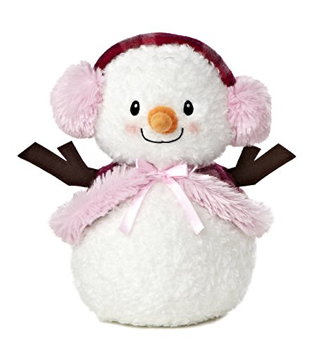 Aurora World Bundled Up Snowlady Plush, 10