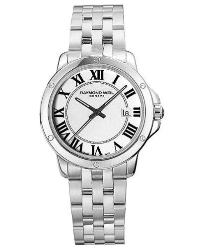 Raymond Weil White Wrist Watch (Raymond Weil Tango White Dial Stainless Steel Mens Watch 5591-ST-00300)
