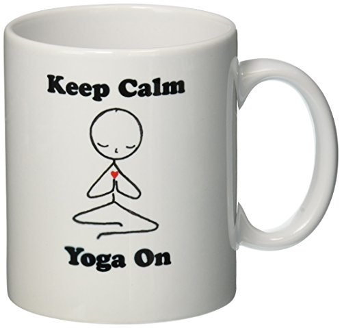 3dRose mug 123070 1 Meditation Position 11 Ounce