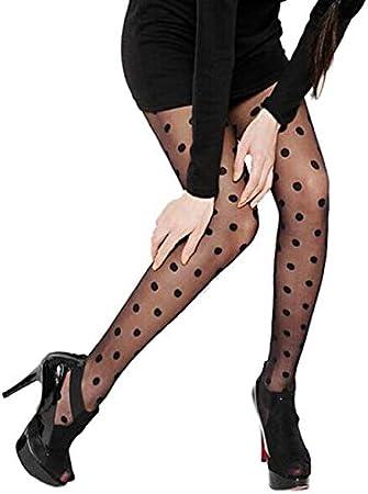 Girls/' Sheer Polka Dot Tights