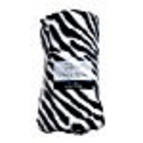 Fleece Throw Blanket - Zebra - 50 in x 60 in