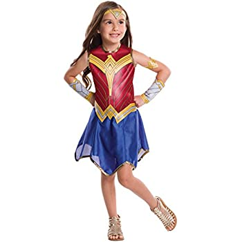 Amazon.com  Super DC Heroes Wonder Woman Child s Costume  Toys   Games 7a6c1cc31a54