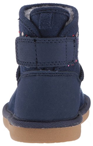 Pictures of Carter's Girls' Tiana Fashion Boot Navy Navy 9 M US Toddler 8