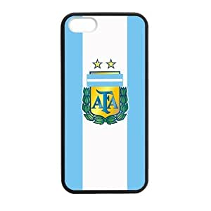 BESTER 2014 FIFA World Cup Argentina Flag Logo Case for iPhone 5s case
