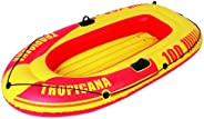 "Jilong Tropicana 100 2 Person Inflatable Boat, Yellow, 72"" x 39&q"