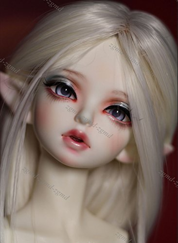 Zgmd 1/4 BJD Doll BJD Dolls Ball Jointed Doll Big Elf Ear Nice Doll Girl Free Eyes With Face Make Up