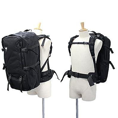 d4ccffdbc8ce Amazon | BACH バッハ TRAVEL PRO 60 トラベルプロ 60 バックパック バッグ カバン 鞄 旅行 A3 60L 132311  BLACK [並行輸入品] | タウンリュック・ビジネスリュック