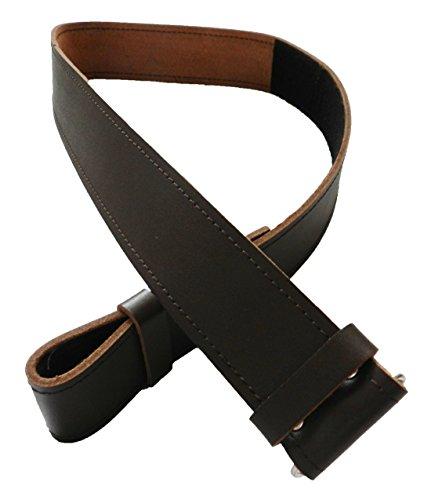 Scottish Brown Kilt Belt Smooth Finish Waist 40-46