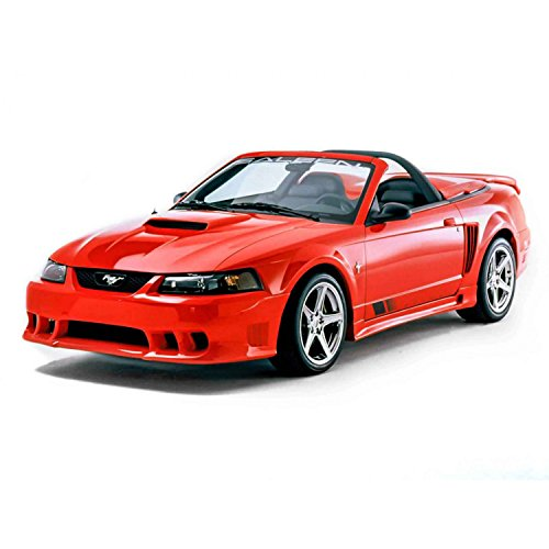 KBD Body Kits Compatible with Ford Mustang 1999-2004 Sallen Style 1 Piece Flexfit Polyurethane Front Bumper. Extremely Durable, Easy Installation, Guaranteed Fitment, Made in the USA!