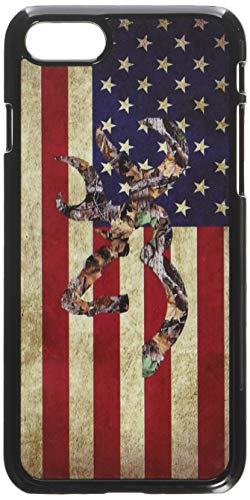 Browning Deer Camo American Flag iPhone 7 Case Black
