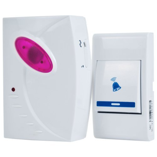 Trademark Home 72-306P Remote Control Wireless Doorbell by Trademark Home by Trademark Home