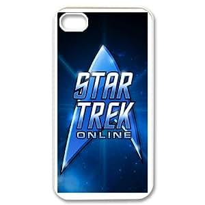 Star Trek For iPhone 4,4S Custom Cell Phone Case Cover 93II655630
