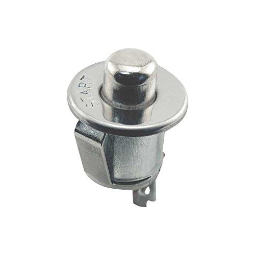 F2 /& F3 Stamped Start MACs Auto Parts 48-17079 Pickup Truck Starter Button F1 Bright Metal