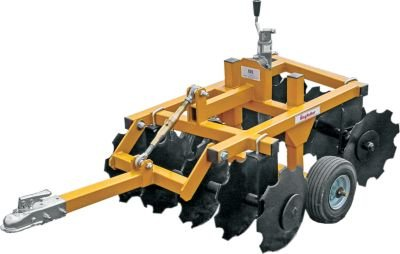 King Kutter Tow-Behind Garden Tractor/ATV Compact Disc - 33in. Working Width, Model Number 14-10-CD-YK by King Kutter