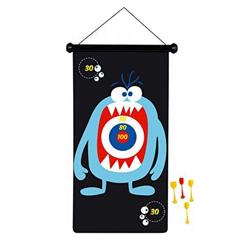 Scratch 276182004 - Jeu de fléchettes magnétiques - Monstre - Taille Grand