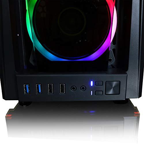 CLX Set Gaming Desktop - Liquid Cooled Intel Core i7 10700K 3.8GHz 8-Core Processor, 16GB DDR4 Memory, GeForce RTX 3090 24GB GDDR6X Graphics, 480GB SSD, 2TB HDD, WiFi, Windows 10 Home 64-bit