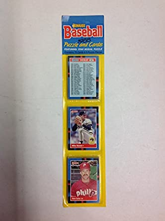 Amazoncom 1988 Donruss Baseball Puzzle And Cards 75 Cards