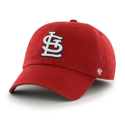 MLB St. Louis Cardinals Cap, Red, Small (Hats Baseball Cardinal)