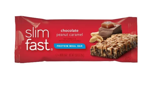Slim.fast! Chocolate Caramelo Treat Snack-bar 26g: Amazon.es: Salud y cuidado personal