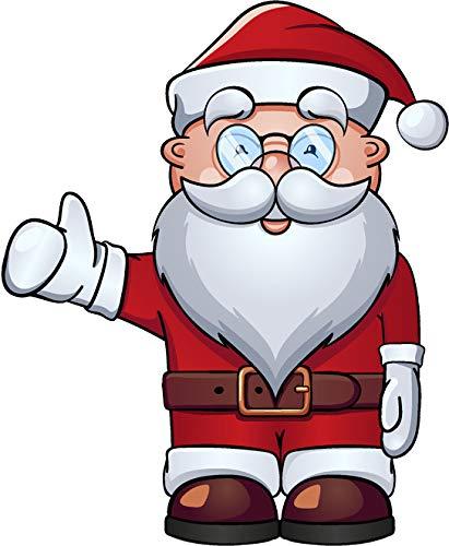 Cute Holiday Christmas Element Cartoon Art Emoji Vinyl
