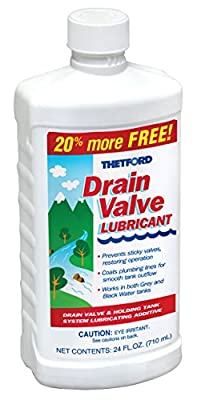 Thetford RV Drain Valve Lubricant 15843, 24 oz. Bottle