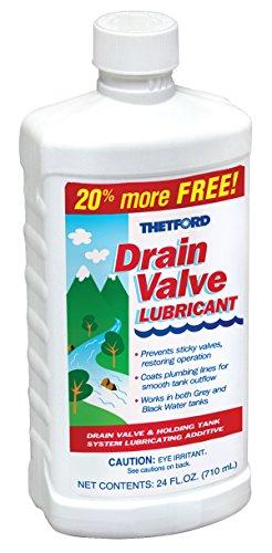 Thetford RV Drain Valve Lubricant 15843, 24 oz. Bottle (Rv Toilet Drain compare prices)