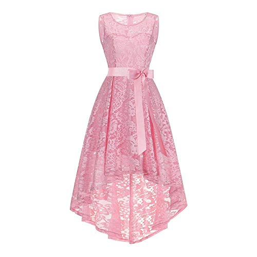 Year Teenager Lace Elegance Wedding Bridesmaid Girl Dress for Christmas Girl Princess Party Girl 13-20T,As Picture7,15