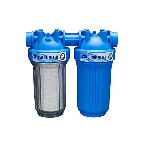 "Pelican 2-Stage EZ-Connect Walter Filter 10"" Chlorine System"