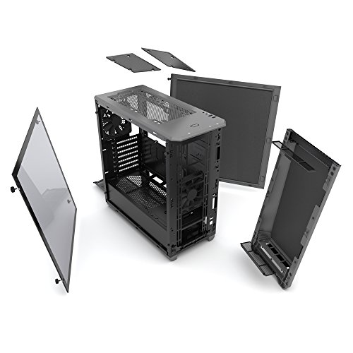 Phanteks PH-EC416PSTG_AG Eclipse P400S Silent Edition with Tempered Glass, Anthracite Grey Cases by Phanteks (Image #10)