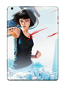 High Impact Dirt/shock Proof Case Cover For Ipad Air (mirrors Edge Game)