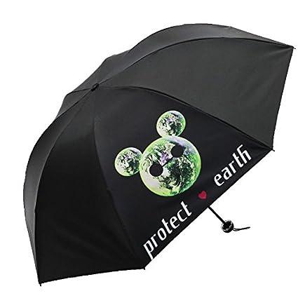 Paraguas plegable automatico Mujer niño Hombre an- Protección UV para sombrilla Plegable - Protector Solar