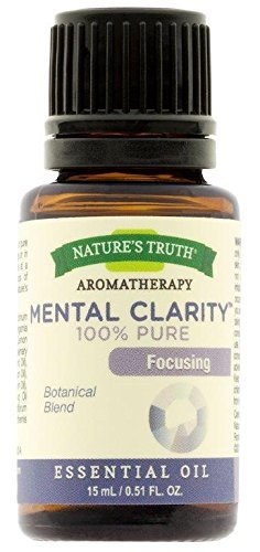 Nature's Truth Essential Oil, Mental Clarity, 0.51 Fluid Ounce by Nature's Truth by Nature's Truth
