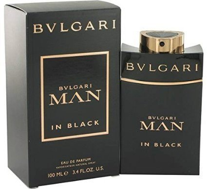 Bvlgari Man in Black Bvl Eau De Parfum Spray for Men 3.4 Oz.