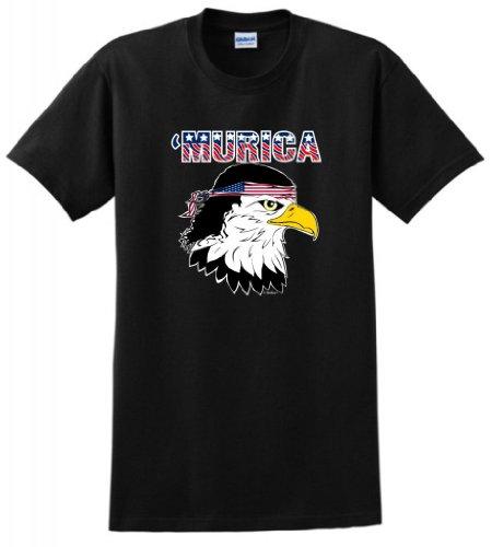 Murica Bald Eagle Mullet T Shirt
