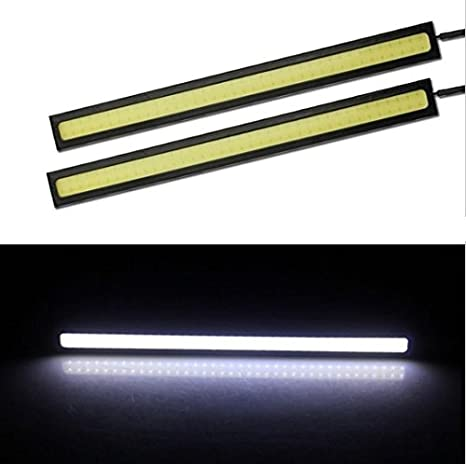 Strisce Led Impermeabili.Usun Set 2 Strisce Led Impermeabili Per Auto 17 Cm 18 W