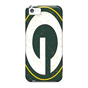 Deeck Premium Protective Hard Case For Iphone 5c- Nice Design - Green Bay Packers