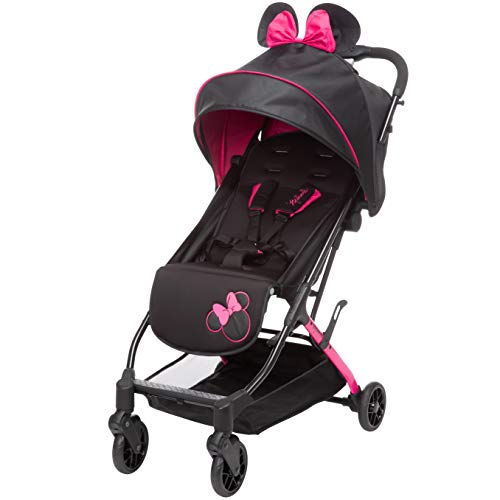 Disney Minnie Mouse Teeny Ultra Compact Stroller, Let's Go Minnie!, One Size