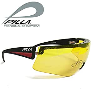Pilla Fugitive–Gafas protectoras, marco + 3gafas vasos–22,42,78Zeiss vivx HD