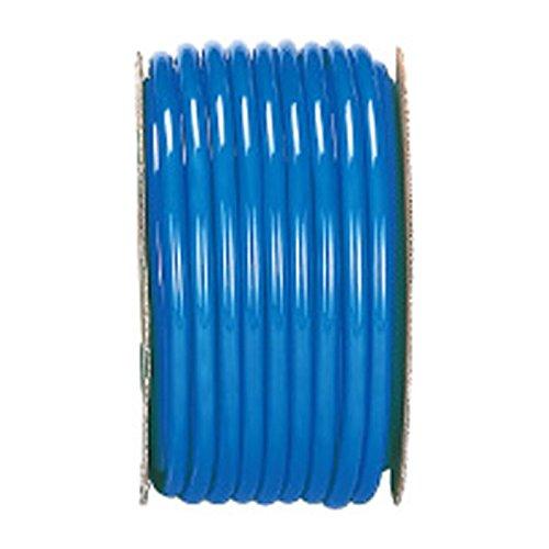 【50m×10個】 カラー ホース ブルー 内径 15mm ×外径 15mm 中ビ カ施 代不 B0776SKDVQ