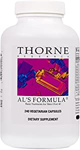 THORNE RESEARCH - Al's Formula - 240ct [Health and Beauty]