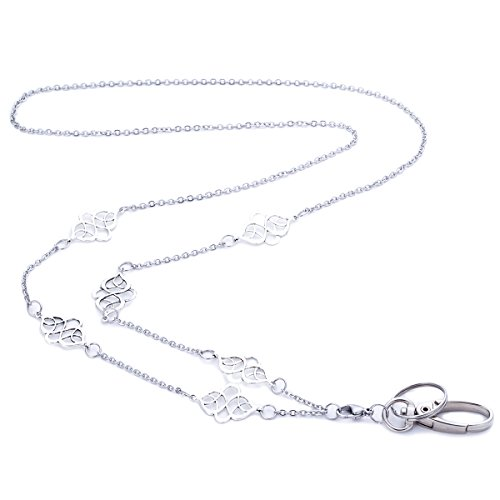 Women's Fashion Lanyard Necklace Chain Lanyard Super Strong for Keys Badge Holder (T34) by Sum's