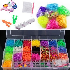 Buy rainbow loom band kit toy more than 6800 bands best toy gift rainbow loom band kit toy more than 6800 bands best toy gift birthday gift for fandeluxe Choice Image