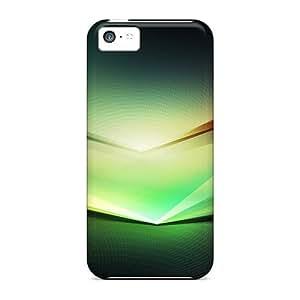 Snap-on Case Designed For Iphone 5c- Spectrum