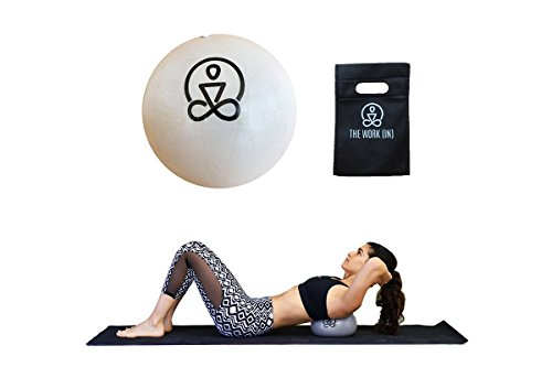 9 inch Core Ball by The Work(in) - Strength, Stability & Flexibility- Includes FREE EBOOK and TRAVEL BAG (9 inches, With Inflation Straw)