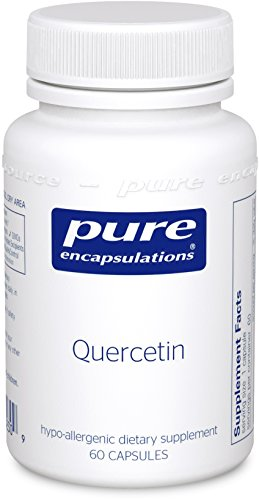 Pure Encapsulations - Quercetin - Hypoallergenic Supplement with Bioflavonoids for Cellular, Cardiometabolic and Immune Health* - 60 Capsules