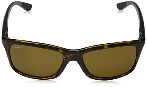 d0988894c5 Amazon.com  Ray-Ban RB8352 Sunglasses Havana Polar Brown 57mm   Cleaning  Kit Bundle  Clothing