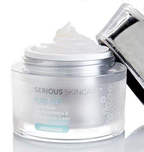 Serious Skincare Pure-Pep Creme Riche 30 Peptide Cream 2 fl. oz.