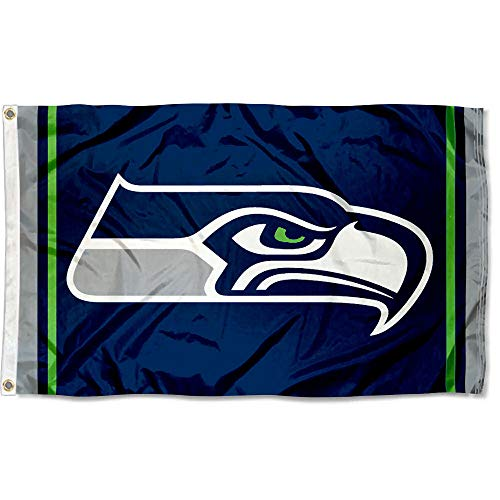 WinCraft Seattle Seahawks Large NFL 3x5 Flag -